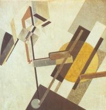 El Lissitzky. Proun 19D. Ca 1922.
